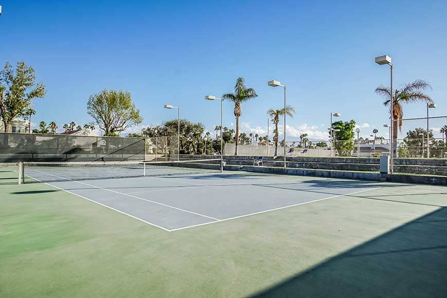 Desert Breezes Tennis Court